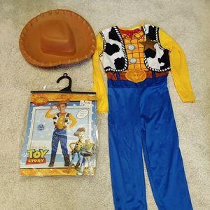 Woody Costume & Cowboy Hat Disney Toy Story
